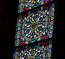 Basilica Stained Glass by phil decocco