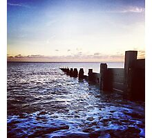 Felpham Beach, West Sussex Photographic Print