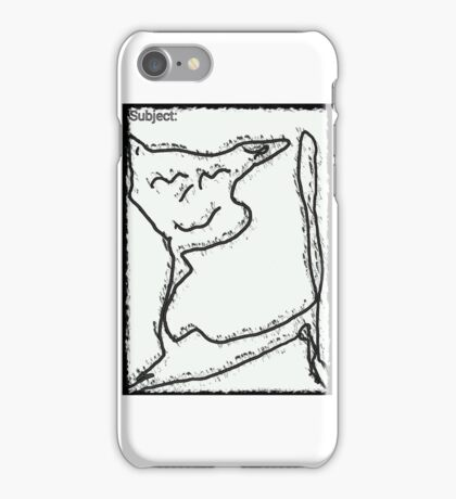 abstract,cat iPhone Case/Skin