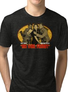 Cary Grant His Girl Friday T-Shirt Tri-blend T-Shirt