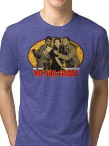 Cary Grant His Girl Friday T-Shirt Tri-blend T-Shirt