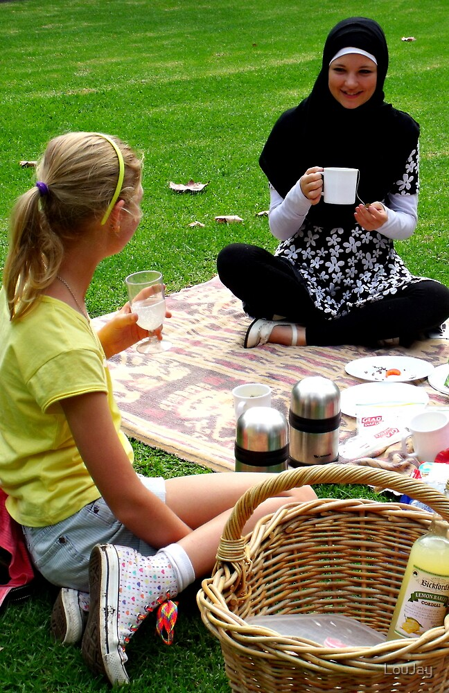 In which two sisters picnic by LouJay
