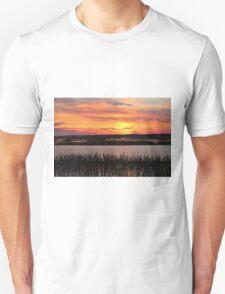 Sky Over The Marsh Unisex T-Shirt