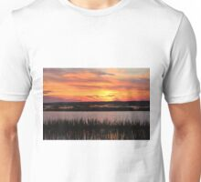 Sky Over The Marsh Unisex T-Shirt