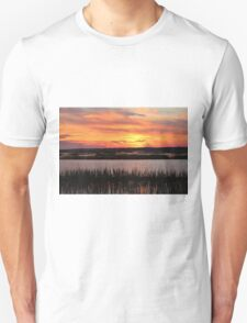 Sky Over The Marsh T-Shirt