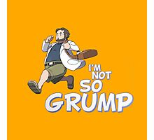 PROFESSOR JON - NOT SO GRUMP - GAME GRUMPS CLASSIC JONTRON EGORAPTOR Photographic Print