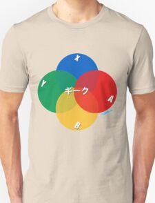 Retro Geek Control Pad Buttons T-Shirt