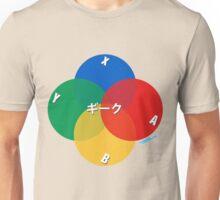 Retro Geek Control Pad Buttons Unisex T-Shirt