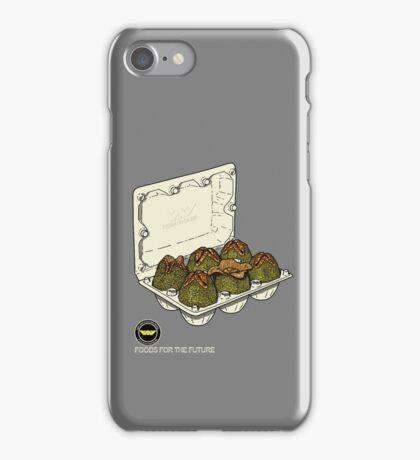 Food for the future. iPhone Case/Skin