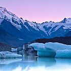 Tasman Glacier - New Zealand by Kimball Chen