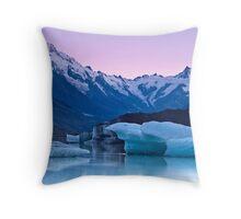 Tasman Glacier - New Zealand Throw Pillow