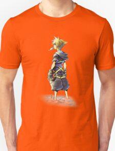 Kingdom Hearts - Sora on beach T-Shirt