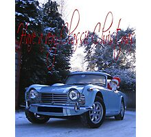 Have a Classic Christmas Photographic Print