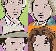 The Doctors 5 to 8 by pygmycreative