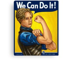 Brienne Can Do It! Canvas Print