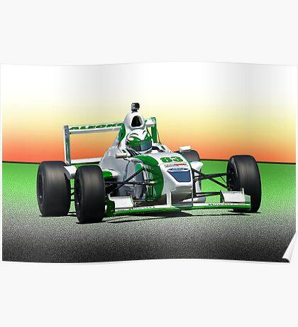 SCCA Formula Atlantic FA Poster