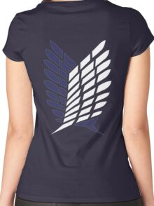 Attack on Titan - Scouting Legion Women's Fitted Scoop T-Shirt
