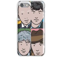 The Doctors 1 to 4 iPhone Case/Skin