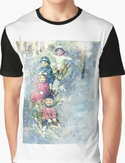WINTER JOY Graphic T-Shirt