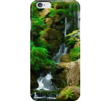 Japanese Rock Garden Falls iPhone Case/Skin