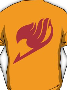 Fairy Tail Guild Red Logo  T-Shirt