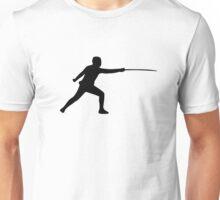 Fencing fencer Unisex T-Shirt