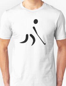 Field hockey player Unisex T-Shirt