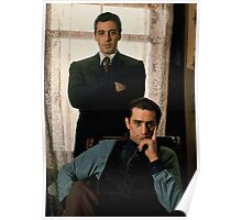 The Godfather - Al Pacino, Robert De Niro Poster
