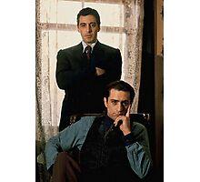 The Godfather - Al Pacino, Robert De Niro Photographic Print