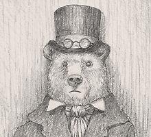 Steampunk Bear by betsystreeter