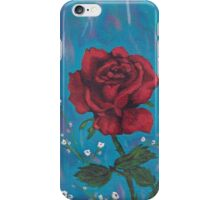Rose painting,colorful iPhone Case/Skin
