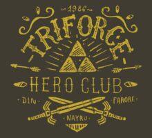 Triforce Hero Club by Azafran