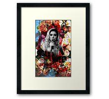 Sugar Queen Framed Print