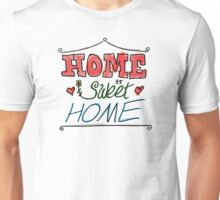 Home Sweet Home - Wood Unisex T-Shirt