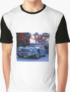 Merry Christmas Classics and Triumphs Graphic T-Shirt
