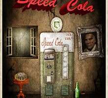 Speed Cola Perk Poster by HexZombies