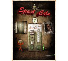Speed Cola Perk Poster Photographic Print