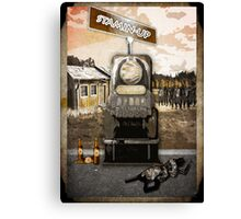 Stamin Up Perk Poster Zombies Canvas Print