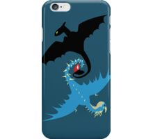 How to Train Your Dragon - Toothless and Stormfly iPhone Case/Skin