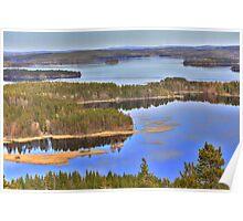 Finnish landscape Poster