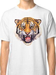 snarling tiger t-shirt design Classic T-Shirt