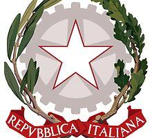 Emblem of Italy  by abbeyz71
