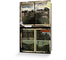 Custom Zombies Loading Screens Poster - Prison & Lockdown Greeting Card