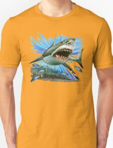 great white shark t-shirt design T-Shirt