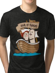 Game Of Fingers - Game Of Thrones Tri-blend T-Shirt