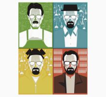 Walter White's 4 Faces by Cramer