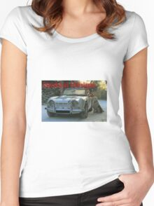 Classics at Christmas Women's Fitted Scoop T-Shirt