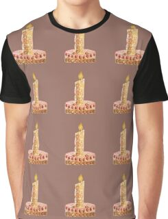Strawberry cake for Christmas Graphic T-Shirt