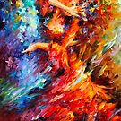 LOST FLAMENCO  by Leonid  Afremov
