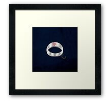 Compass Ring Framed Print